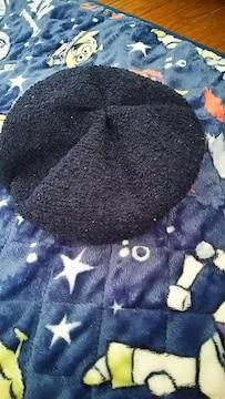 ネイビー★カジュアル★ベレー帽★キッズ size52
