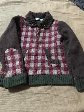 ファミリア 男の子用  セーター 100cm