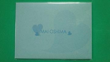 〓大島麻衣ボム台紙付3枚組テレカ