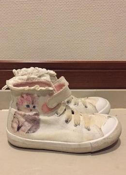 H&M☆子猫ちゃん白スニーカー