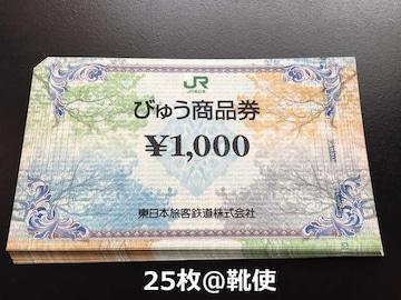 びゅう商品券25000円分☆モバペイ各種対応/即日発送/ポイント