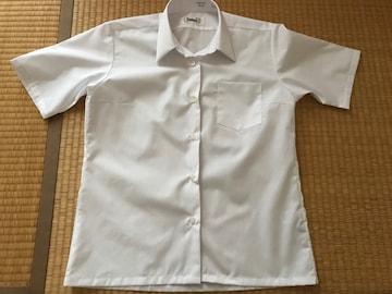 未使用★学生用女子 スクールシャツ 半袖シャツ ブラウス160