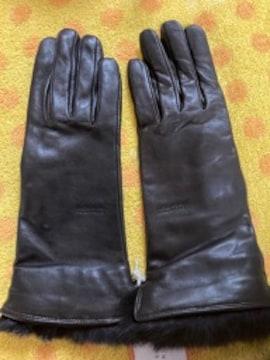 マッキントッシュ 羊皮革手袋タッチパネル対応