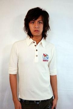 SANFORD(サンフォード)5分袖ポロシャツ/S アメカジサーフ系