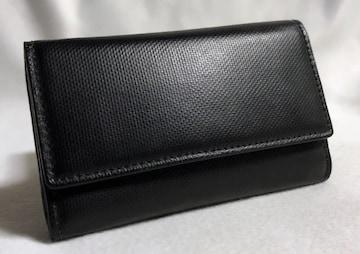 正規激レア Dior Hommeディオールオム 6連レザーキーケース黒 小銭入れ有 コインケース