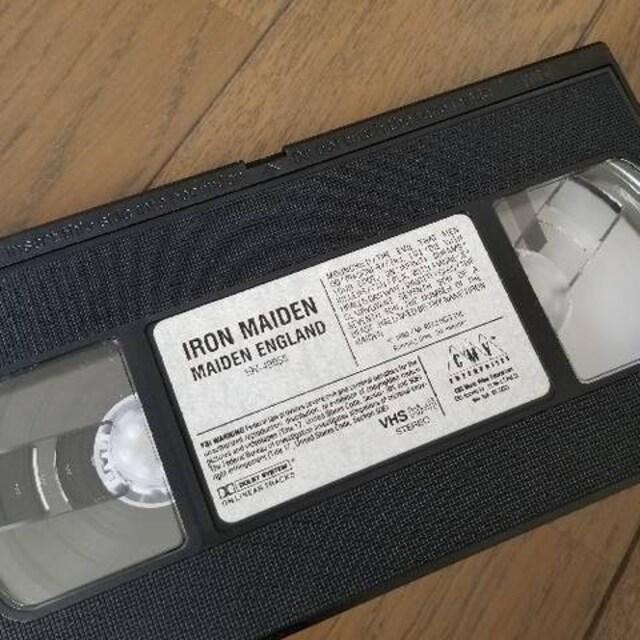 ★IRON MAIDEN/MAIDEN ENGLAND アイアンメイデンVHS輸入ビデオ < タレントグッズの