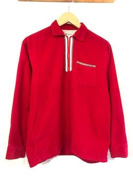 SEARS■50'sVINTAGE■コーデュロイシャツ■USA製■シアーズ■赤