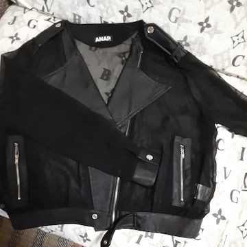 新品未使用 ANAP ライダースジャケット