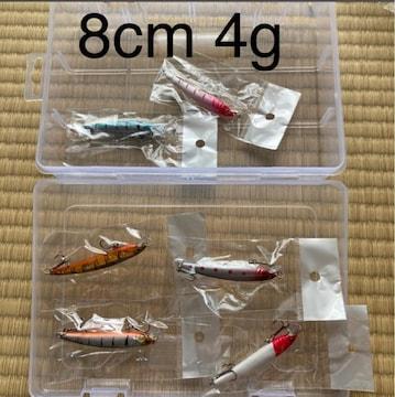 新品 釣りルアー混合6個セット 人工餌 釣り具セット 川/湖/海