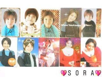 【吉澤ひとみ】トレーディング.コレクションカード.トレカ10枚セット�A