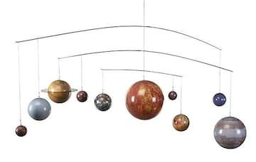 新品 送無 GL061太陽系グローバル・モビール 惑星 宇宙