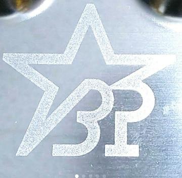 ○ B'z PARTY『ステンレストレイ』38g MADE IN JAPAN
