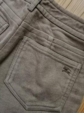 BURBERRYhorse刺繍★冬pantsベージュ