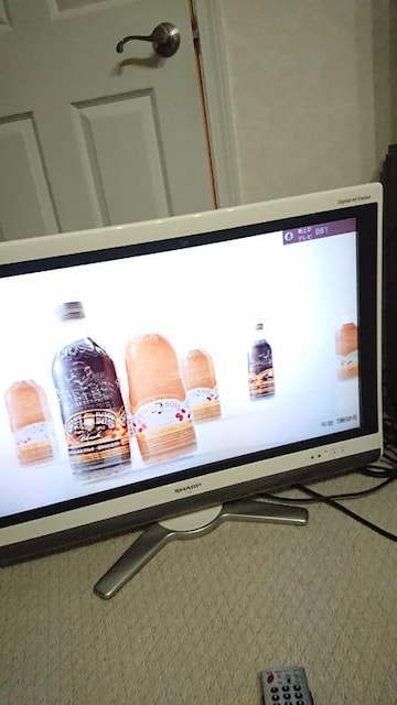 SHARP AQUOS 液晶テレビ 32型 LC-32DE5 リモコン 引き取り可能 < 家電/AVの