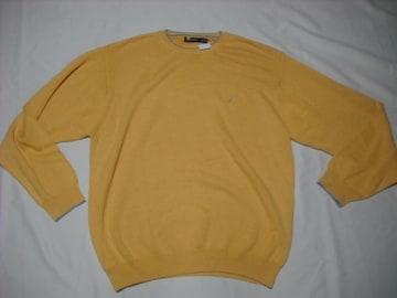 96 男 NAUTICA ノーティカ 黄 セーター XXL