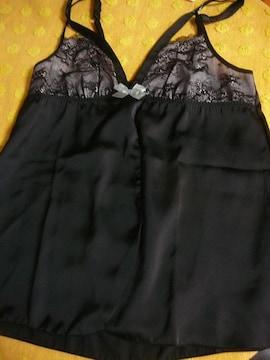 ワコールアンフィベビードールMサイズ黒