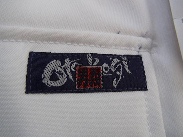 男義のカーゴツータックパンツ ホワイト 新品タグ付き!。 < 男性ファッションの