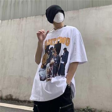 夏の半袖の男性服の韓国版の流れの緩い版