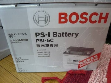 BOSCH ボッシュ バッテリー☆PSIN-6C ベンツ ミニ ゴルフ等