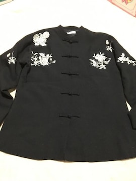 美品  チャイニーズ  デザイン  ジャケット