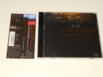 DVD★ACOUSTIC LIVE 2002 R.A.W. respect and wisdom 帯付