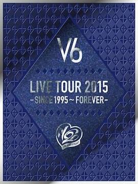 即決 V6 LIVE TOUR 2015 -SINCE 1995~FOREVER- 初回限定盤B 新品