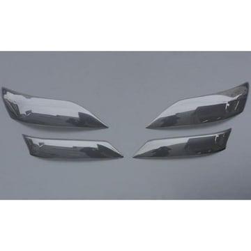 トヨタ ブラックスモークヘッドライトレンズカバー ヴェルファイア 20系25系
