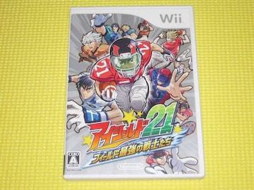 Wii★即決★アイシールド21 フィールド最強の戦士たち★箱説付