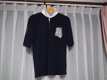 BGのスタンドカラー Tシャツ(M) 白黒 新品タグ付き!。