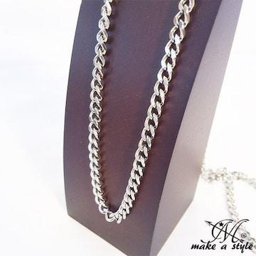 キヘイ 喜平 シルバー 銀 ステンレス ネックレス 70cm 482