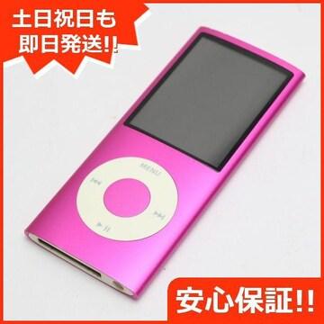 ●安心保証●美品●iPOD nano 第4世代 16GB ピンク●