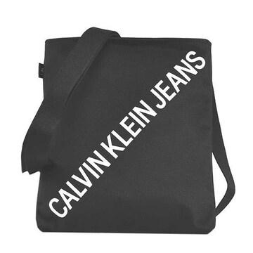 ◆新品本物◆カルバンクラインジーンズ ショルダーバック(BK)『K50K506440』◆