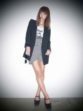 MURUA タックギャザーチューリップタイトスカート