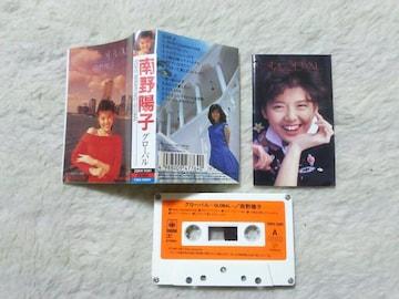 カセットテープ 南野陽子 グローバル '88/7