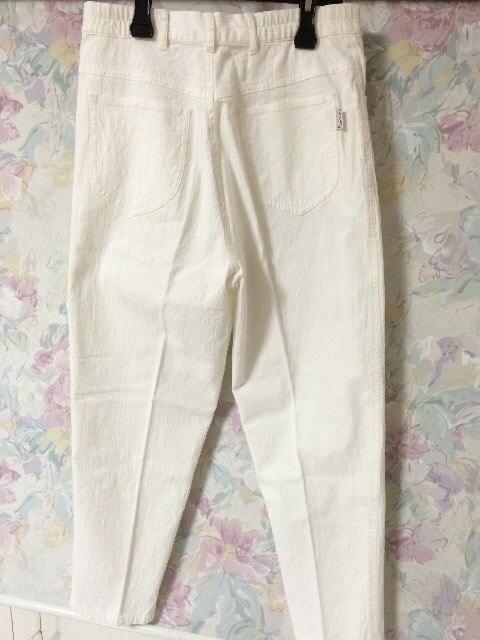 夏物 ボトムス 婦人服 ホワイト < 女性ファッションの