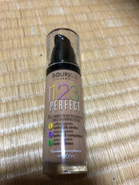 ブルジョワ123 perfect foundation spf 10 no. 54 beige 切手OK  < ブランドの