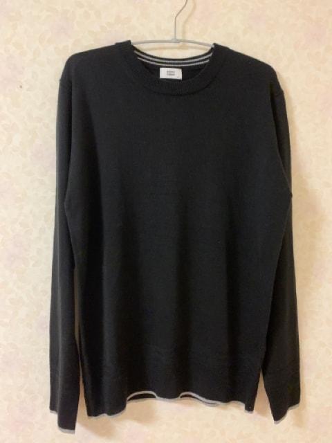 ブラウニークルーネックニットセーター BROWNY 新品同様美品M  < ブランドの