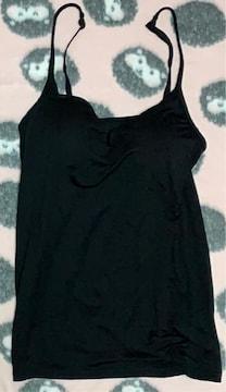 ブラトップ キャミソール ブラック