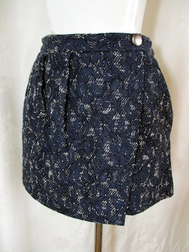 【31sons de mode】【未使用品】ネイビーのキュロットスカート