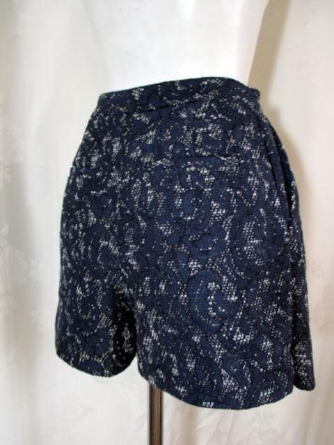 【31sons de mode】【未使用品】ネイビーのキュロットスカート < 女性ファッションの