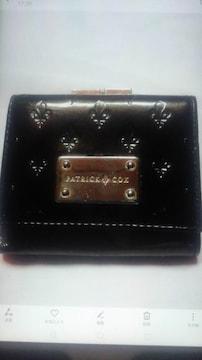 早期終了PATRICKCOX(パトリック.コックス)小銭入れ付き折り財布