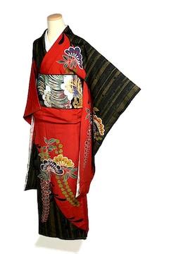 【最高級】新品同様 金彩 振袖・長襦袢・袋帯セット T2042