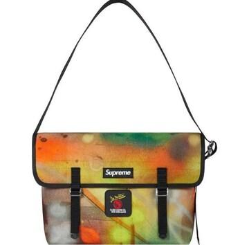Supreme Messenger Bag Rammellzee 20ss バッグ