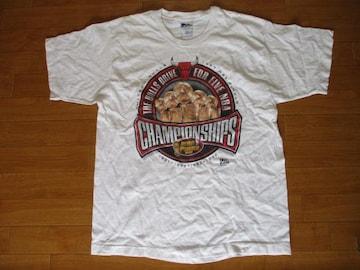 USA製 90年代 NBA シカゴ ブルズ Tシャツ USA−L