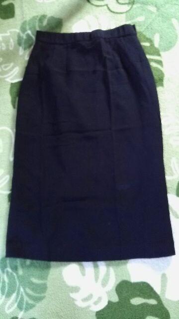 冠婚葬祭/礼服 スリット入スカート★大きいサイズW67W70W73 < 女性ファッションの