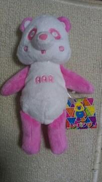 AAA え〜パンダくったりぬいぐるみ�A ピンク色
