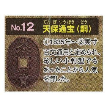 古銭コレクション 第5弾 日本の金・銀・銅貨 天保通宝 ガチャポン フィギュア