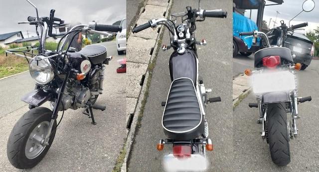 HONDA ホンダ MONKEY モンキー 12V Z50J < 自動車/バイク