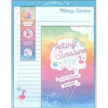 ★Melting Sunshine☆レターセット★未開封