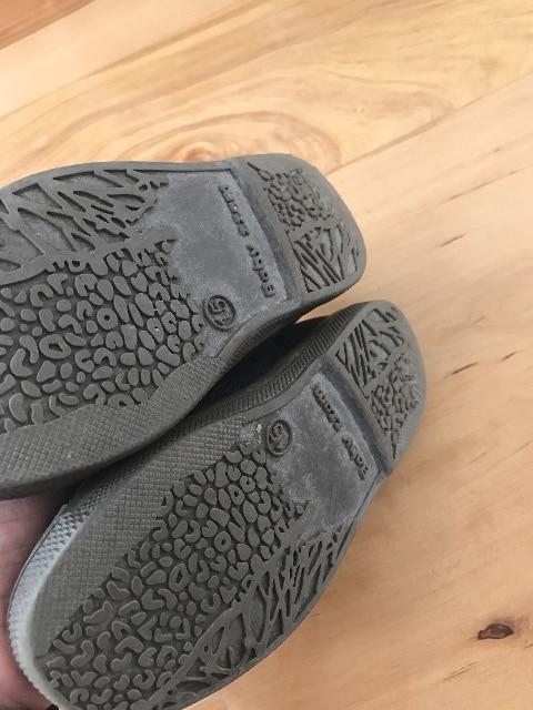女の子靴スリッポン15�pスニーカー黒 < キッズ/ベビーの